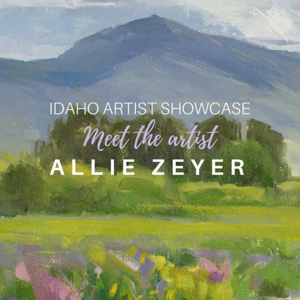 Allie Zeyer: July 2018 Artist of the Month