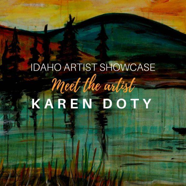 Karen Doty: October 2018 Artist of the Month