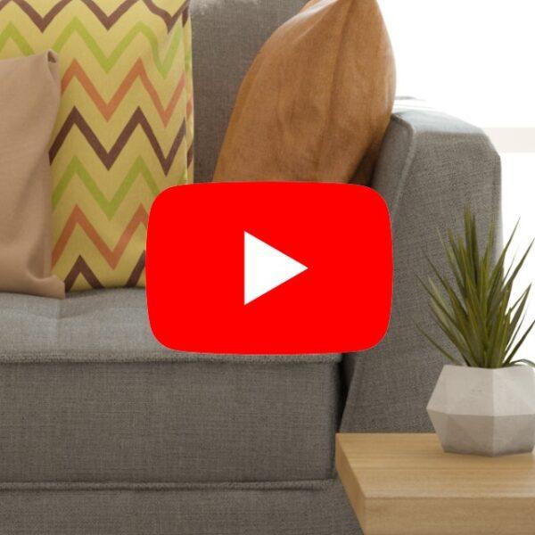 living room scene with sofa