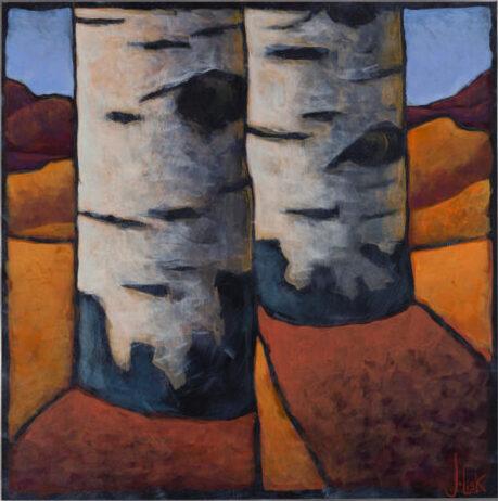 """""""Aspen"""" by Jerri Lisk, 12x12"""""""