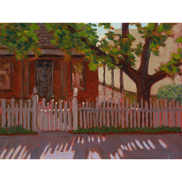 """""""Cyrus Jacobs House"""" by Rick Friesen, 9x12"""""""