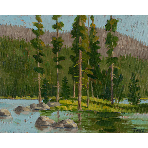 """""""Pine Island"""" by John Taye, 8x10"""""""