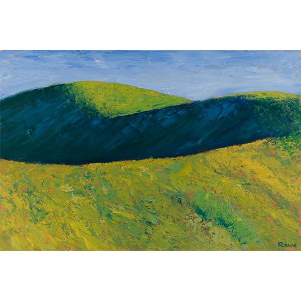 """Ridges"" by Carl Rowe, 12x18"""